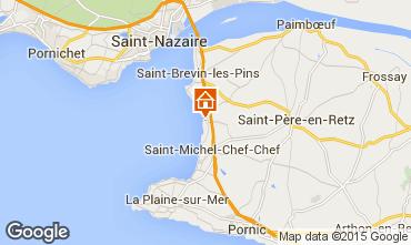 Carte Saint Brevin les Pins Mobil-home 101937