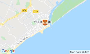 Carte Valras-Plage Studio 78031