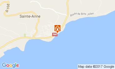 Carte Sainte Anne (Guadeloupe) Appartement 108495
