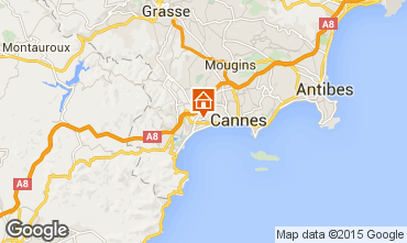 Carte Cannes Appartement 80647