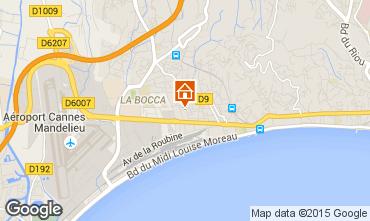Carte Cannes Appartement 80647