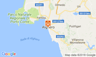 Carte Alghero Appartement 114227