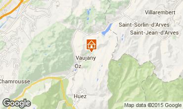 Carte Vaujany Chalet 90536