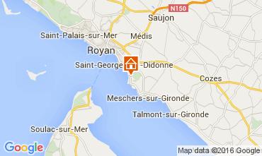Carte Saint Georges de Didonne Mobil-home 106117