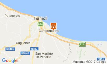 Carte Campomarino Appartement 107533