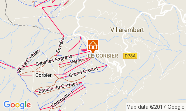 Carte Le Corbier Appartement 112752