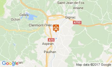 Carte Clermont l'Hérault Villa 108631