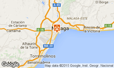 Carte Málaga Appartement 68454