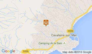 Carte Cavalaire-sur-Mer Villa 53296