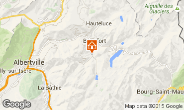 Carte Areches Beaufort Chalet 79429
