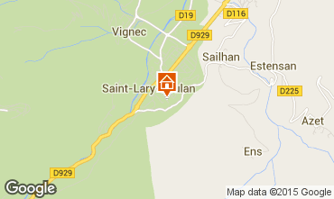 Carte Saint Lary Soulan Appartement 4482