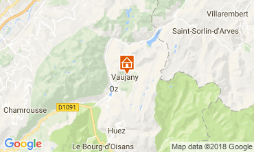Carte Vaujany Appartement 115057
