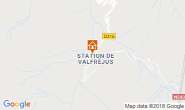 Carte Valfréjus Studio 116797