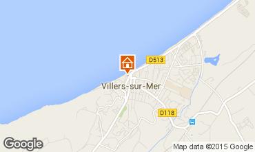 Carte Villers sur Mer Studio 81689