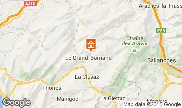 Carte Le Grand Bornand Chalet 86535