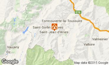 Carte Saint Jean d'Arves Chalet 2499