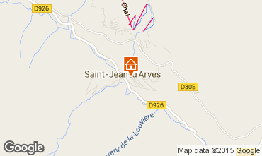 Carte Saint Jean d'Arves Chalet 2499