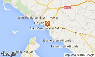 Carte Saint Georges de Didonne Appartement 93696