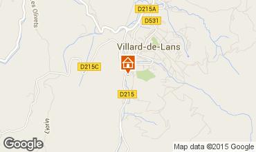 Carte Villard de Lans - Corren�on en Vercors Villa 101987