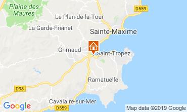 Carte Saint Tropez Appartement 103890
