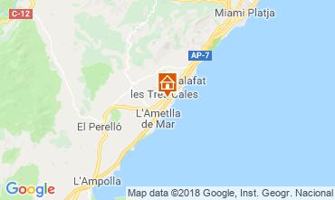 Carte La Ametlla de Mar Villa 108717