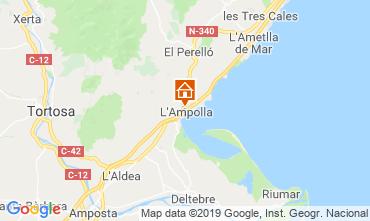 Carte L'Ampolla Villa 119055