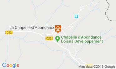 Carte La Chapelle d'Abondance Appartement 117457
