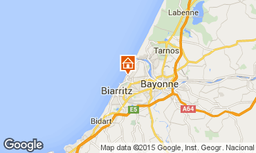 Carte Anglet Appartement 85087