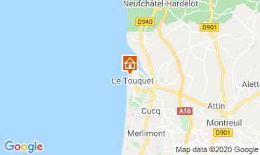 Carte Le Touquet Appartement 7771
