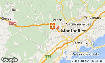 Carte Montpellier Villa 85047