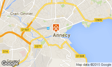 Carte Annecy Gite 94014