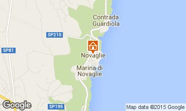 Carte Marina di Novaglie Villa 84689