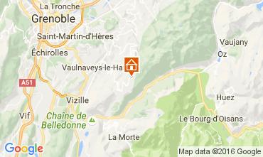 Carte Chamrousse Appartement 106974