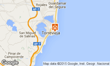 Carte Torrevieja Appartement 55632