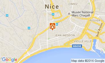 Carte Nice Appartement 104348
