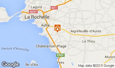 Carte La Rochelle Gite 86747