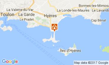 Carte Hyères Appartement 111063