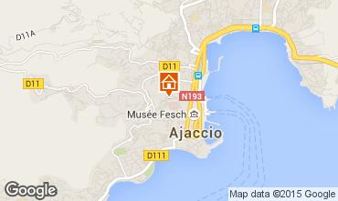 Carte Ajaccio Studio 75338