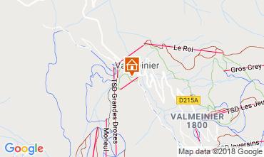 Carte Valmeinier Gite 117285