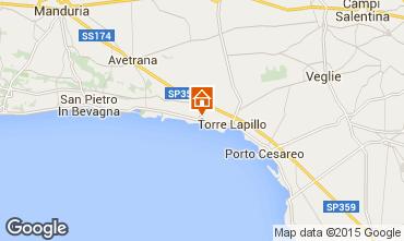 Carte Porto Cesareo Appartement 61664