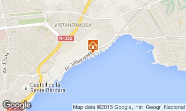 Carte Alicante Appartement 8187