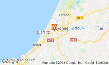 Carte Biarritz Studio 15504
