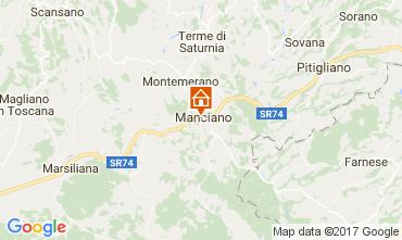 Carte Manciano Appartement 109164