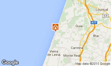 Carte Praia do Pedrog�o Appartement 60215