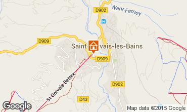 Carte Saint-Gervais-les-Bains Appartement 73512