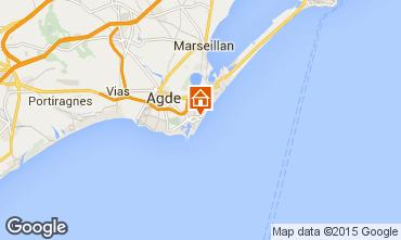 Carte Cap d'Agde Appartement 84196