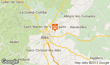 Carte Alès Gite 94182
