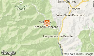 Carte Puy Saint Vincent Appartement 2394