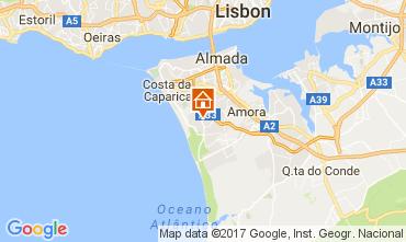 Carte Lisbonne Villa 65732