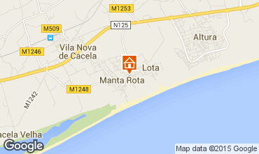 Carte Vila Real de Santo Antonio Appartement 63105